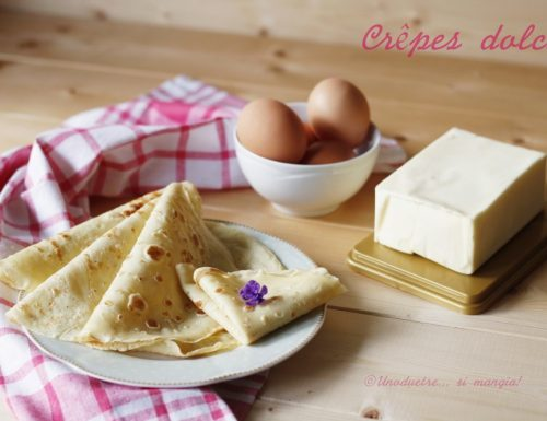 Crêpes dolci – ricetta tradizionale francese