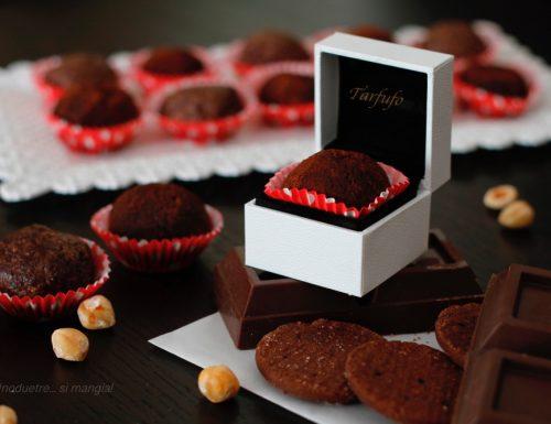 Tartufo cioccolove – Tartufi al cioccolato e nocciole