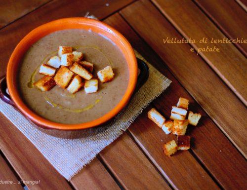 Vellutata di lenticchie e patate