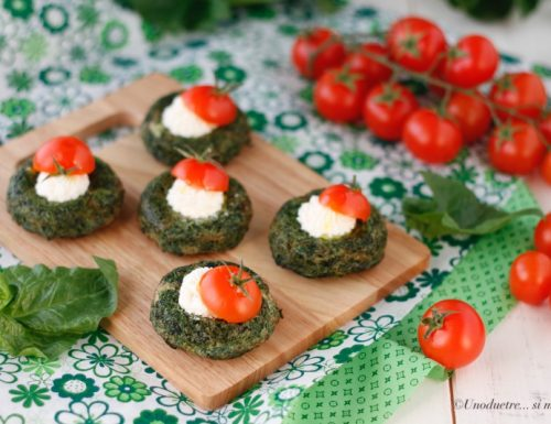 Bocconcini di spinaci e robiola – aperitivi sfiziosi
