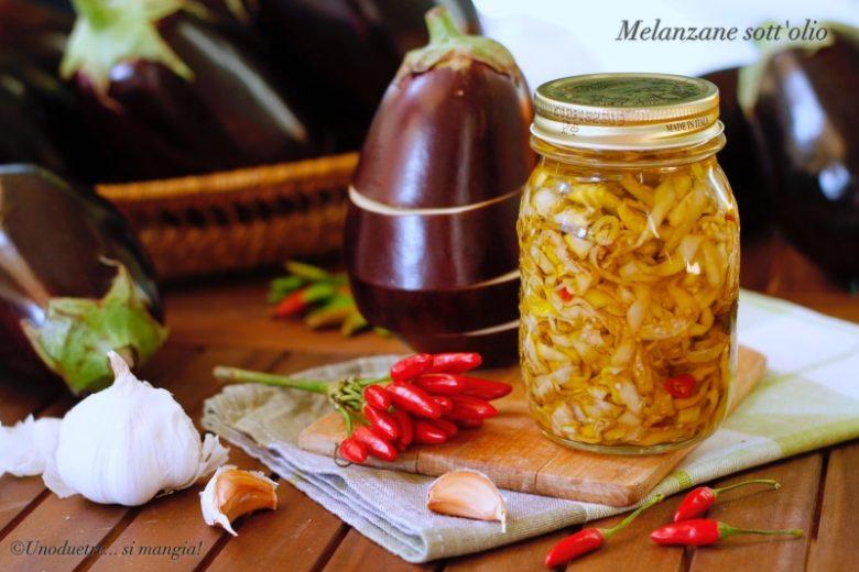 Melanzane sott'olio – ricetta senza cottura