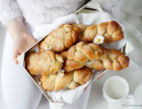 Treccia dolce – brioche da colazione