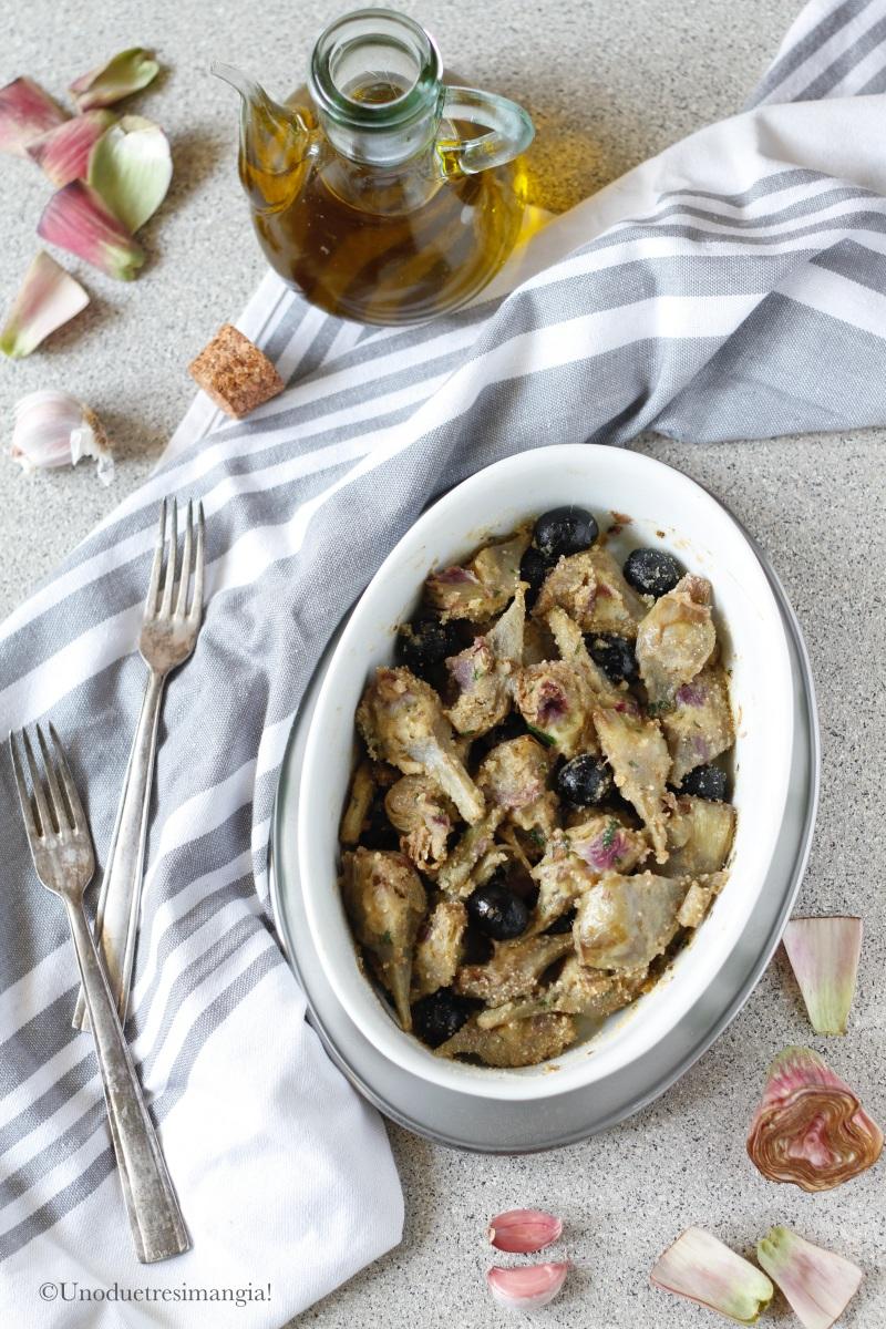 carciofi e olive