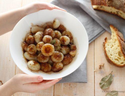 Cipolline in agrodolce – ricetta semplice e veloce