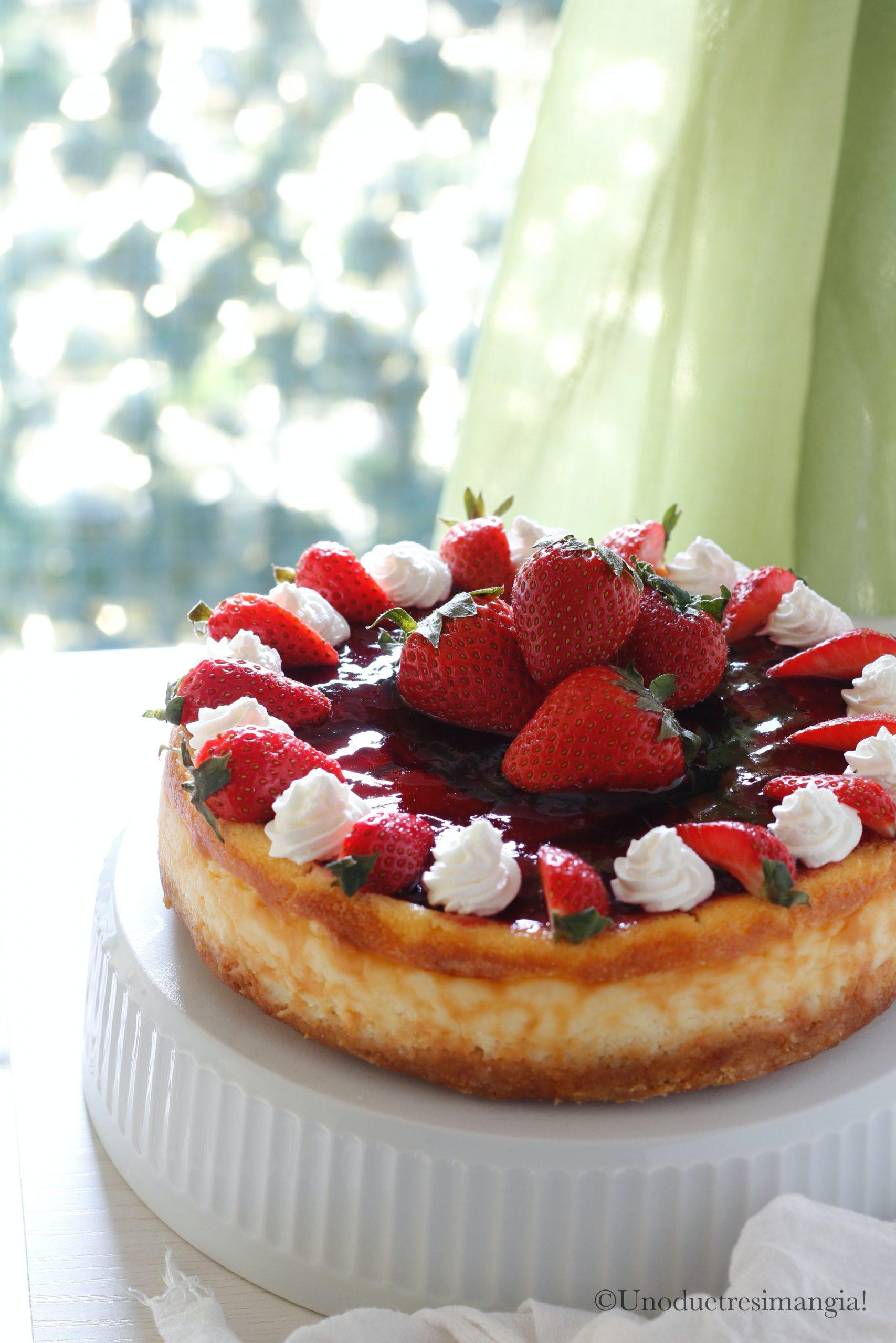cheesecake cotta alle fragole