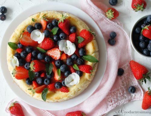 Cheesecake cotta allo yogurt – senza colla di pesce