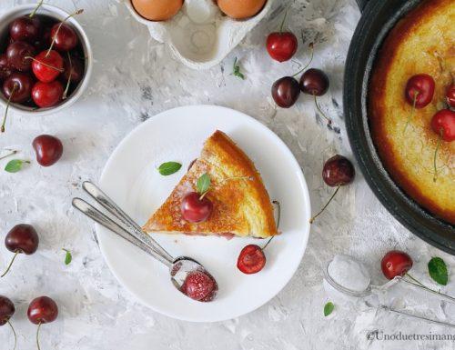 Clafoutis di ciliegie – ricetta classica