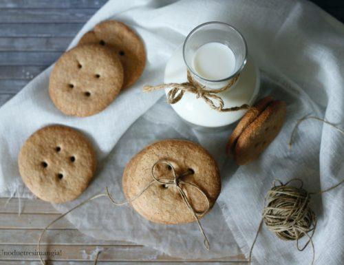 Biscotti al grano saraceno – senza glutine