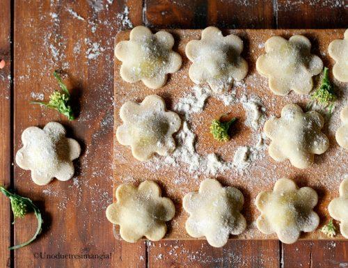 Pasta fresca – Fior di raviolo cime e salsiccia