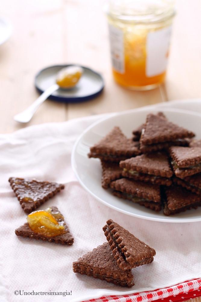 biscotti al cacao integrali