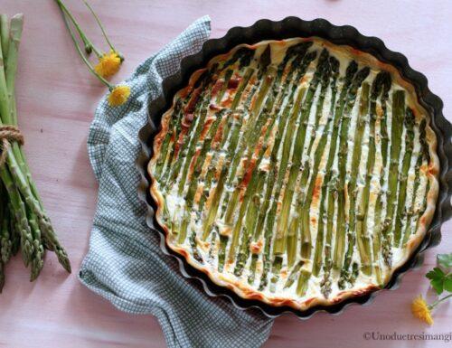 Quiche agli asparagi – ricetta leggera