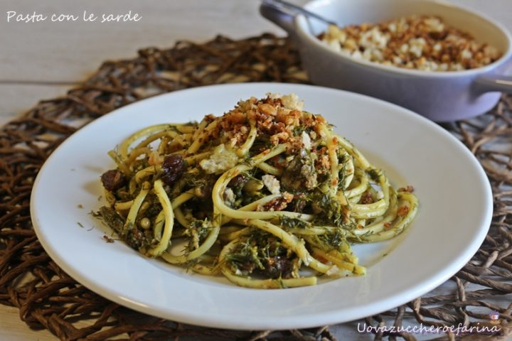 ricetta pasta sarde siciliana