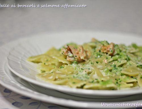 Farfalle ai broccoli e salmone affumicato