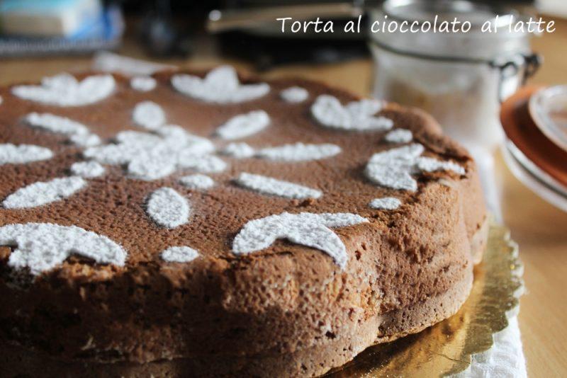torta al cioccolato al latte new