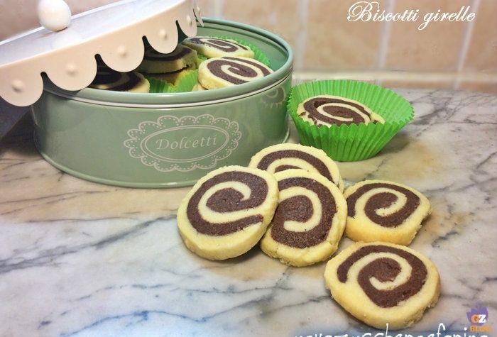 Girelle, ricetta dolce di biscotti