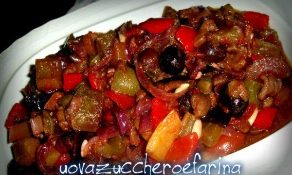 La caponata, ricetta siciliana