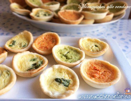 Miniquiches alle verdure