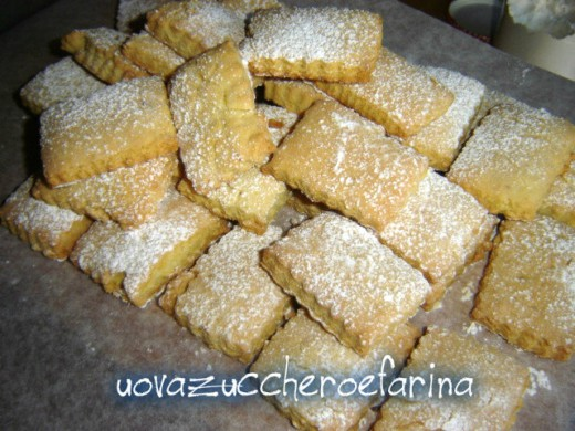 biscotti con ammoniaca