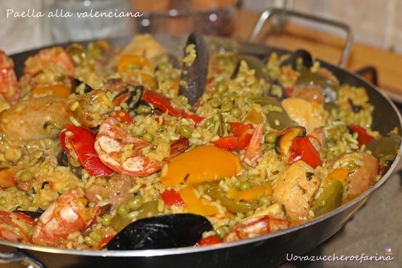 Paella Alla Valenciana La Versione Con Verdure Carne E Pesce