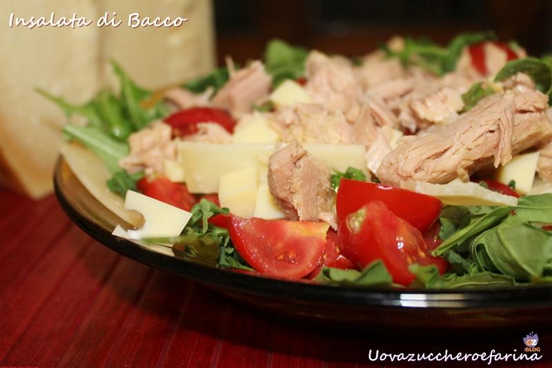 insalata con rucola e Parmigiano