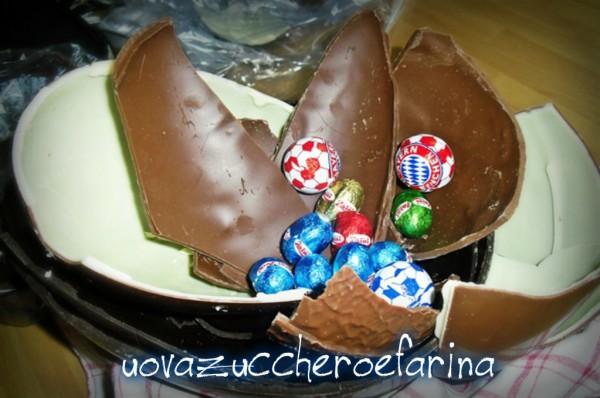 Idee riciclo uova di Pasqua   uovazuccheroefarina  