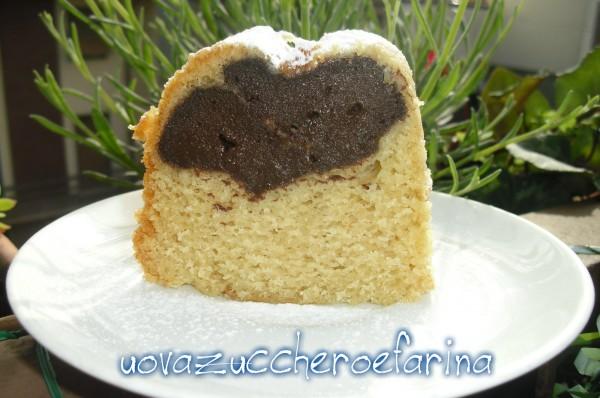 ciambella alla crema di Nua al cioccolato (fetta)