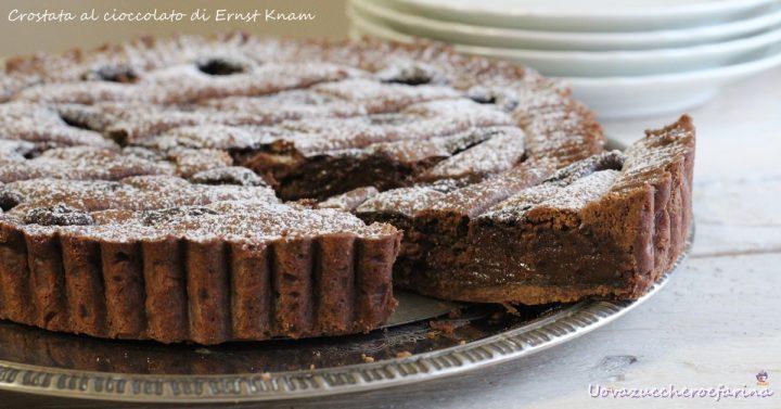 crostata al cioccolato ricetta di Ernst Knam