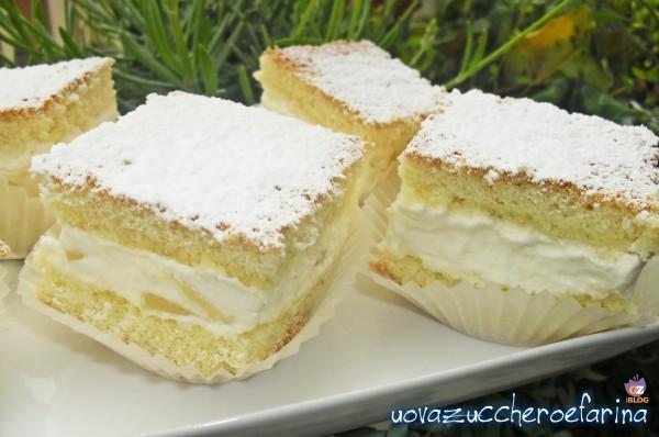 Tortine alla panna e ananas ricetta dolce uovazuccheroefarina - Differenza panna da cucina e panna fresca ...