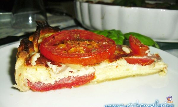 Torta di pomodori e cipolle
