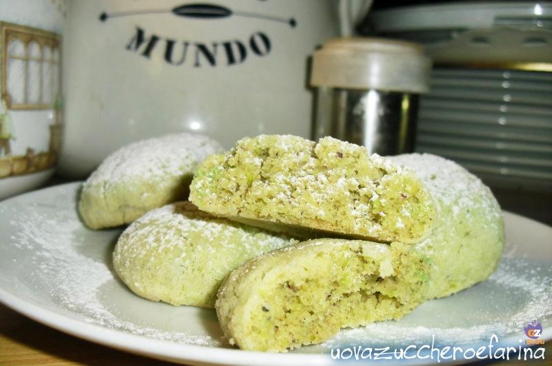 Popolare Conserve di zucchine: Ricette dolci con farina di pistacchio GG84
