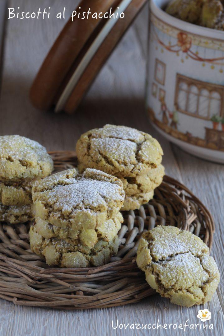 biscotti pistacchio ricetta facile