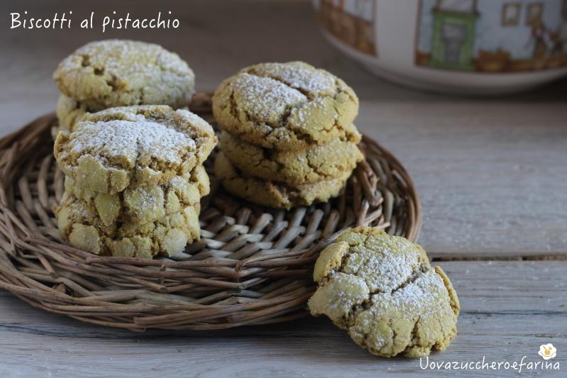 ricetta biscotti al pistacchio facilissimi