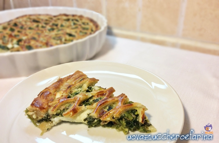 Torta salata di spinaci e stracchino 00
