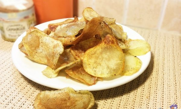 Patatine fritte come quelle in busta