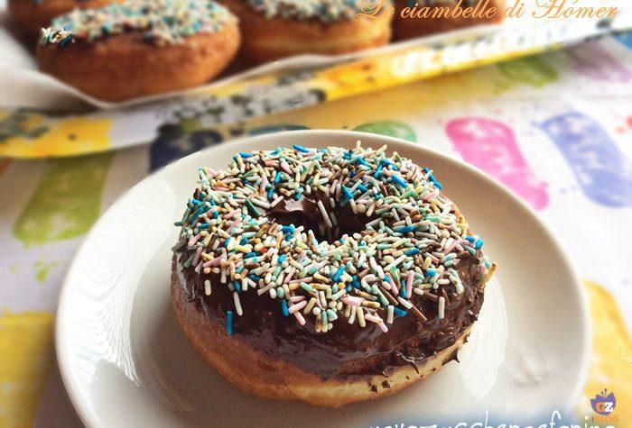 Le ciambelle di Homer o Donuts