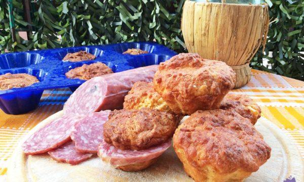 Muffins cacio e pepe