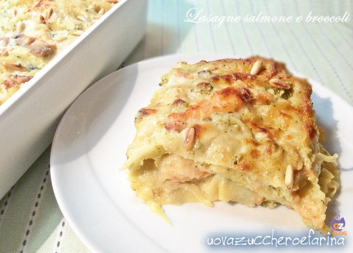 Lasagne salmone e broccoli 00