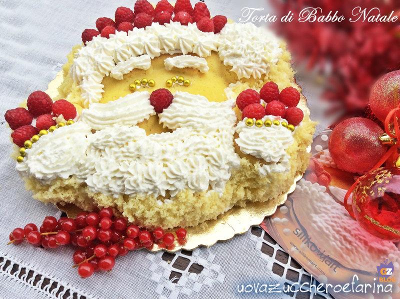 Super Torta di Babbo Natale ricetta facile | uovazuccheroefarina KK95