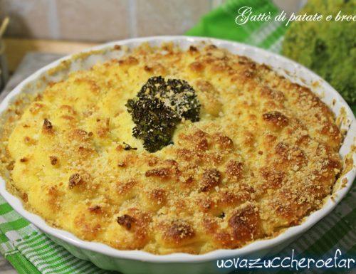 Gattò di patate e broccoli