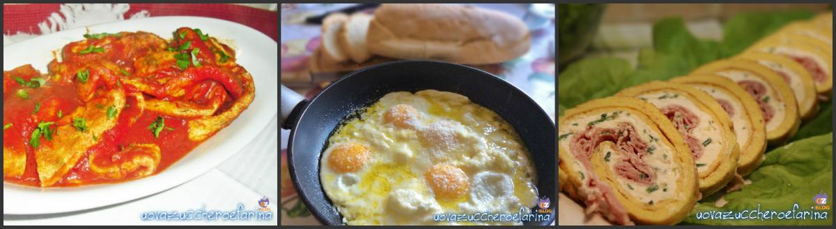 Collage ricette con le uova