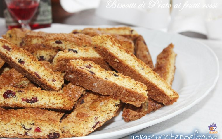 Biscotti di Prato ai frutti rossi