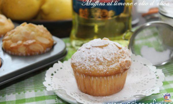 Muffins al limone e olio d'oliva