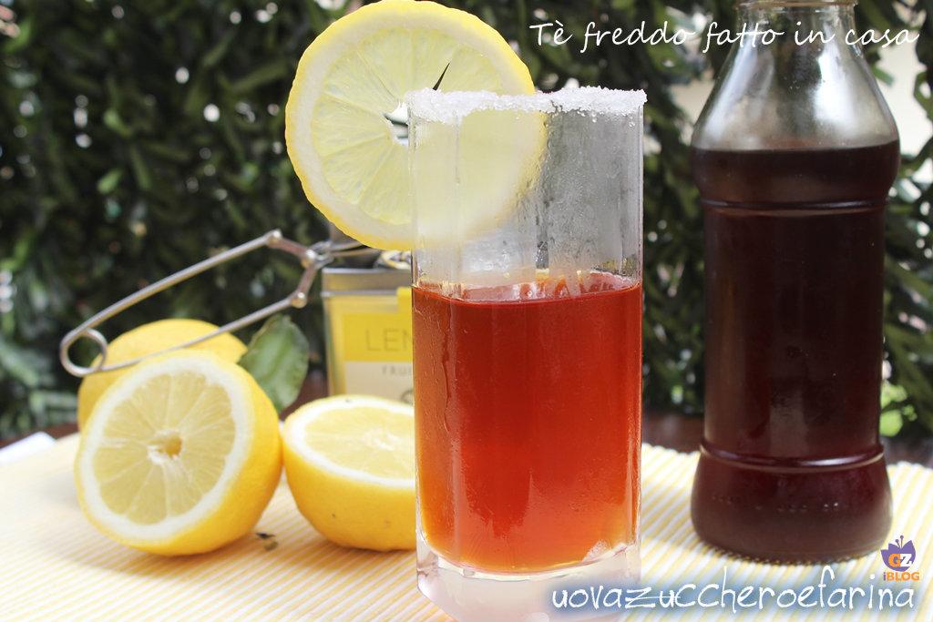 Tè freddo fatto in casa