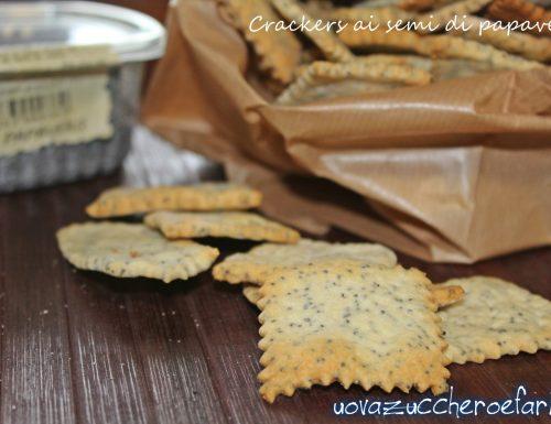 Crackers ai semi di papavero con licoli