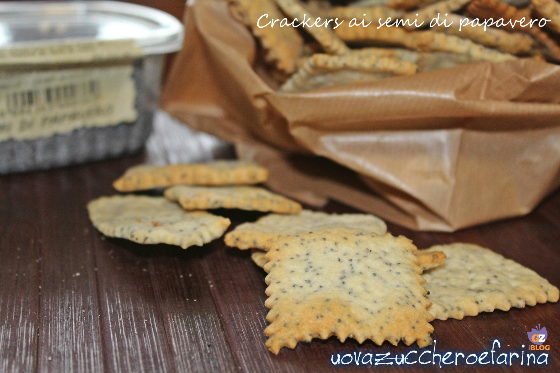 crackers ai semi di papavero con licoli new
