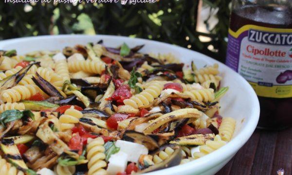 Insalata di pasta e verdure grigliate