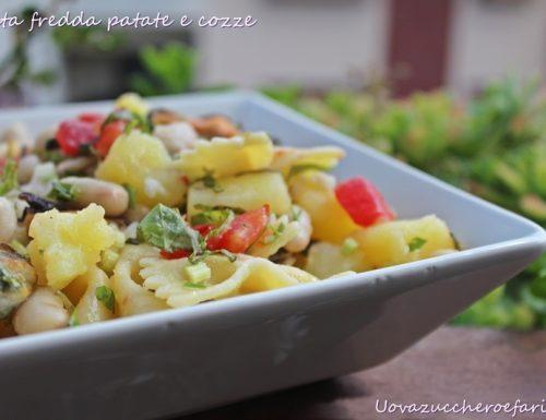 Pasta fredda con patate e cozze