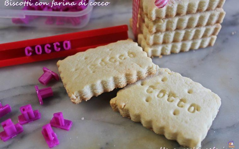 Biscotti con farina di cocco