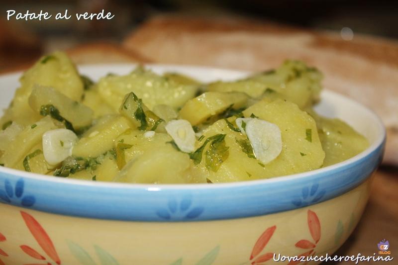 patate al verde