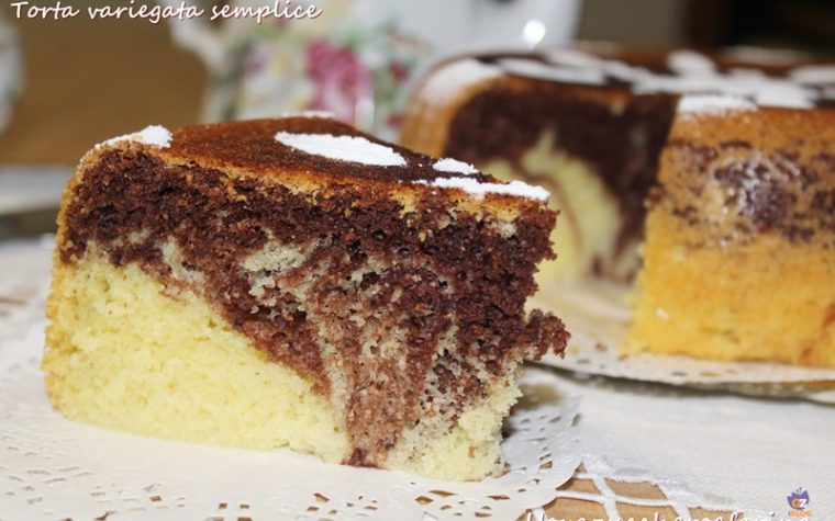 Torta variegata semplice con Olla GM